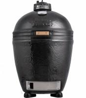 Керамический угольный гриль Primo Round (круглый, в размере LARGE)