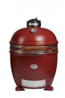Керамический гриль Monolith Grill Classic L (большой) red (красный) на керамических ножках