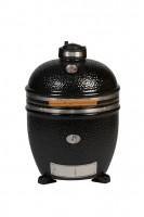 Керамический гриль Monolith Grill Classic L (большой) black (черный) на керамических ножках