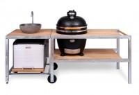Барбекю-кухня с керамическим грилем Monolith Grill Classic L