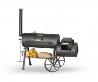 Гриль - коптильня Smoky Fun Party Wagon 6