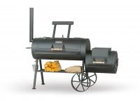 Профессиональный гриль - коптильня Smoky Fun Party Wagon 20